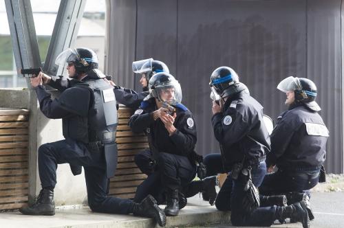 Exercice attentat à Pau.