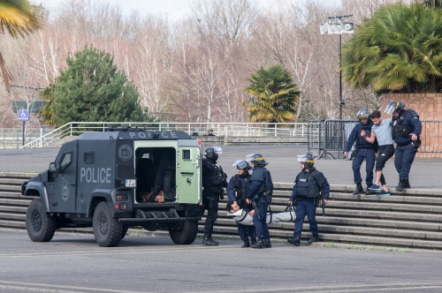 Exercice attentat à Pau