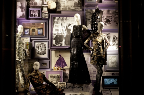Vitrines du grand magasin Bergdorf Goodman àNew-York City.