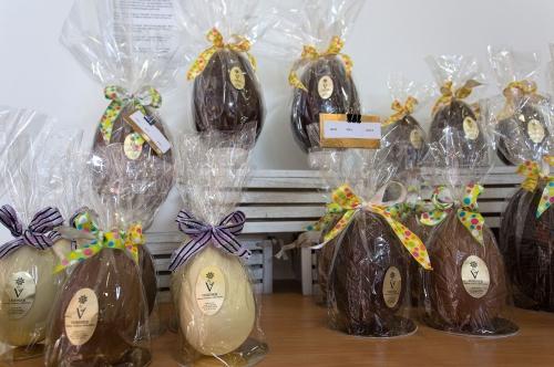 Illustration chocolats de Paques