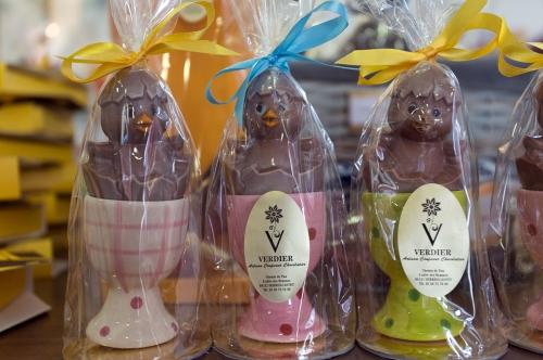Illustration chocolats de Paques