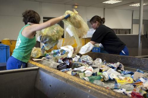 Traitement des déchets recyclable SMTD du Bearn.