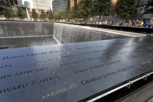 9/11 Memorial, (World Trade Center) New York.