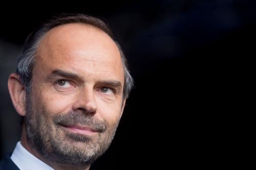Edouard Philippe 1er Ministre.