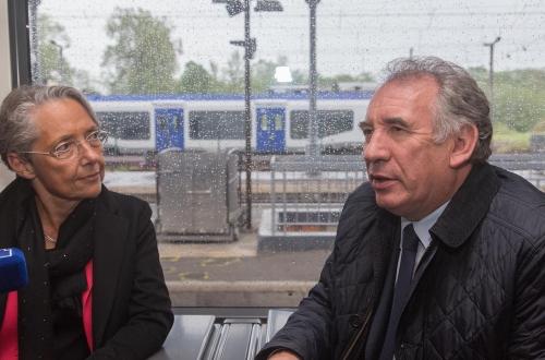 Elisabeth Borne Ministre des transports à Pau