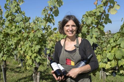 Christine Dupuy vigneronne dans le Madiran.