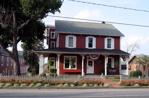 Amish dans le comté de Lancaster, Pennsylvanie USA.