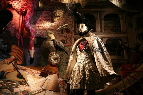 Vitrines du grand magasin Bergdorf Goodman à New-York City.