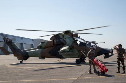 5e Régiment d'Hélicoptères de Combat, Pau.