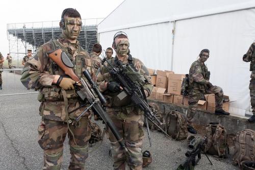 Exercices de la Défense à Pau.