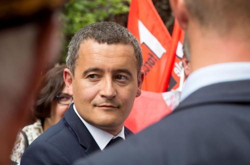 Gérald Darmanin ministre de l'Action et des Comptes publics