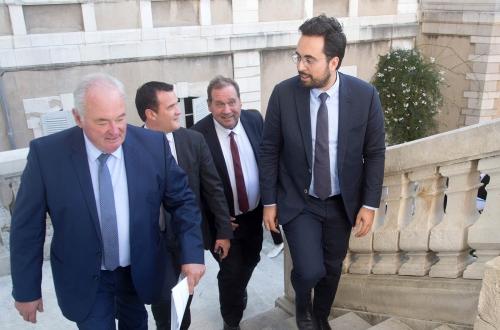 Visite en Béarn de Mr Mounir Mahjoubi, Secrétaire d'État chargé du Numérique.