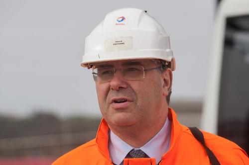Patrick Pouyanné PDG du groupe Total.